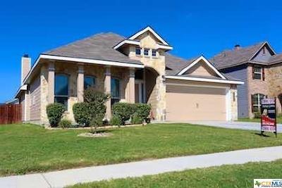 Killeen Single Family Home For Sale: 6403 Nyla Drive