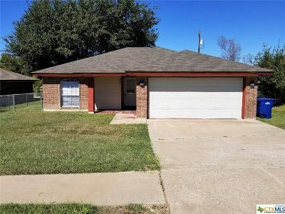 Copperas Cove Single Family Home For Sale: 401 Courtney Lane