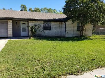 Copperas Cove Single Family Home For Sale: 1202 Dryden Avenue