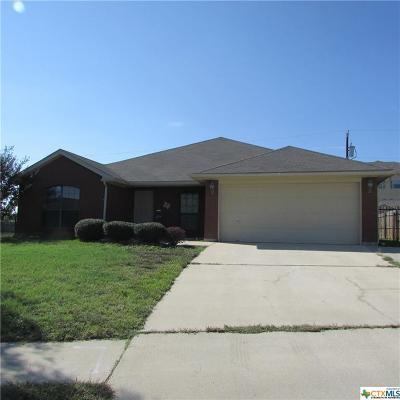 Killeen Single Family Home For Sale: 3613 Solomon Drive