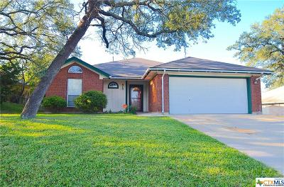 Copperas Cove Single Family Home For Sale: 912 Whirlaway