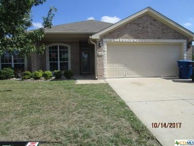 Copperas Cove Single Family Home For Sale: 2408 Gail Street