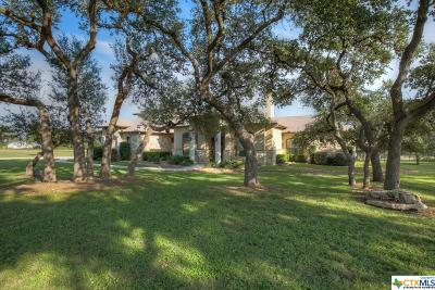 Comal County Single Family Home For Sale: 2280 Deer Run