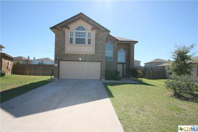 Killeen Single Family Home For Sale: 4802 Bayer Hollow Drive