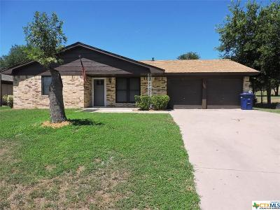Copperas Cove Single Family Home For Sale: 1906 Pleasant