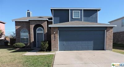 Killeen Single Family Home For Sale: 3811 Thunder Creek