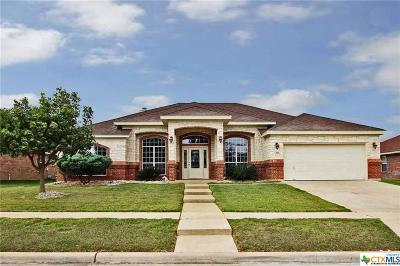 Killeen Single Family Home For Sale: 4811 Sapphire Drive