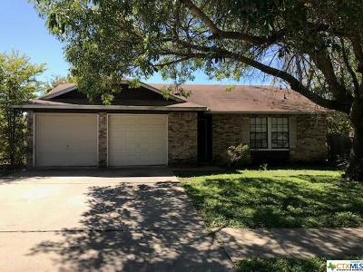 Killeen Single Family Home For Sale: 2606 Hemlock Drive