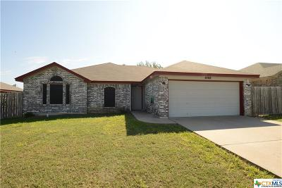 Killeen Single Family Home For Sale: 4408 Jake Spoon Drive