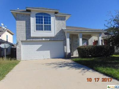 Killeen Single Family Home For Sale: 4903 Donegal Bay Court