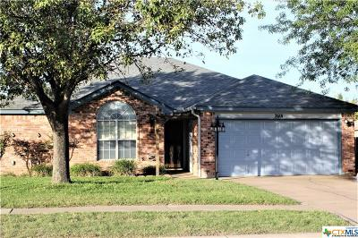 Killeen Single Family Home For Sale: 2601 Rampart Loop