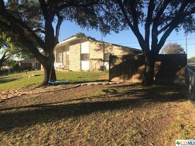 Killeen Single Family Home For Sale: 1105 Robindale