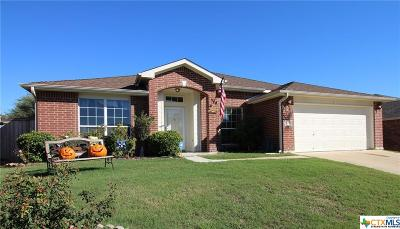 Harker Heights Single Family Home For Sale: 705 Prospector