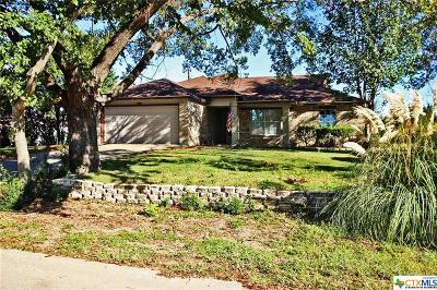 Harker Heights Single Family Home Pending Take Backups: 1705 Quarry