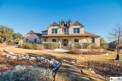 New Braunfels Single Family Home For Sale: 2634 Black Bear Drive