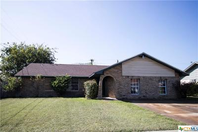 Killeen Single Family Home For Sale: 2214 Doris Drive