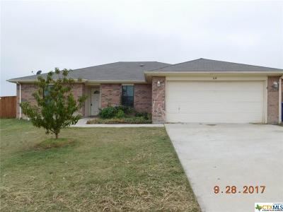 Copperas Cove Single Family Home For Sale: 1114 Travis Circle