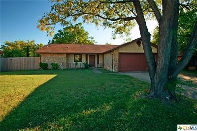 Killeen Single Family Home For Sale: 4408 Mountain View Drive