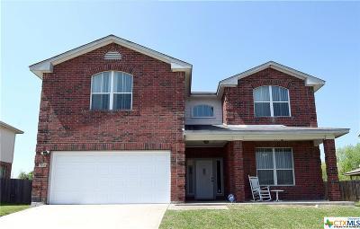 Killeen Single Family Home For Sale: 5703 Chuckwagon