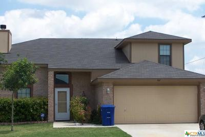 Copperas Cove Single Family Home For Sale: 302 Sumac Trail