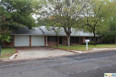 Temple Single Family Home For Sale: 2908 Pecan Drive