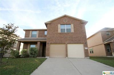 Killeen Single Family Home For Sale: 202 Gemini