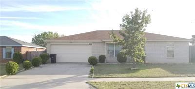 Killeen Single Family Home For Sale: 4204 Matt