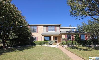 Copperas Cove Single Family Home For Sale: 3012 Sundown