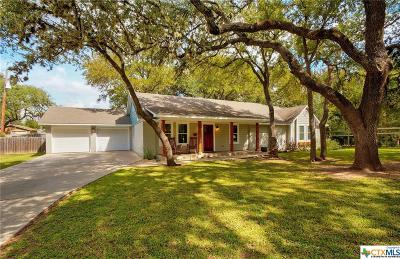 San Marcos Single Family Home Pending Take Backups: 712 Snyder Hill