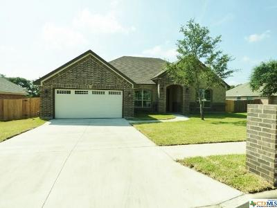 Copperas Cove Single Family Home For Sale: 1007 Jonathan Lane