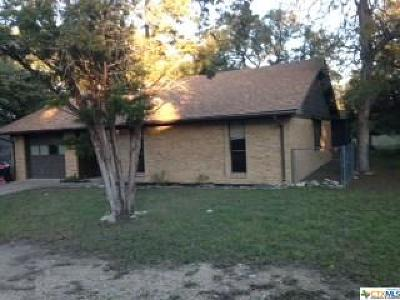 Belton Single Family Home For Sale: 3 Walnut