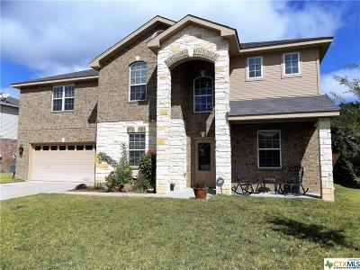 Copperas Cove Single Family Home For Sale: 1520 Indian Camp Trail
