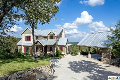 Wimberley Single Family Home For Sale: 1528 Backbone Ridge