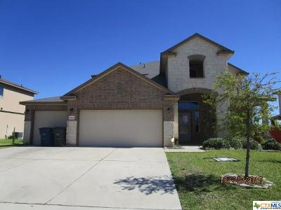 Copperas Cove Single Family Home For Sale: 1906 Terry Drive