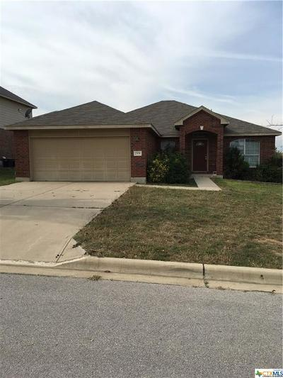 Harker Heights Single Family Home For Sale: 2504 Red Fern Drive