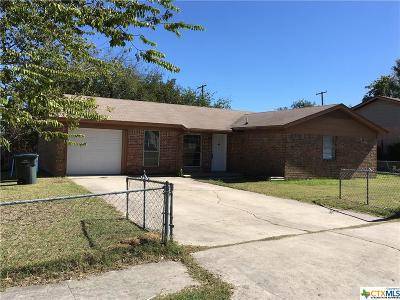 Copperas Cove Single Family Home For Sale: 1501 Bluffdale