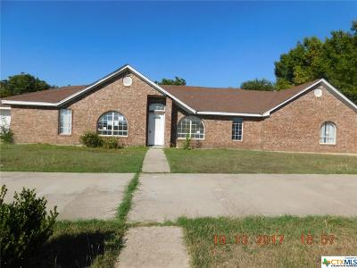 Temple Single Family Home For Sale: 1314 Waters Dairy Road