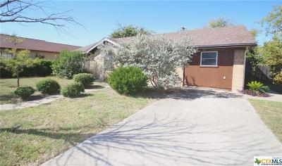 Harker Heights TX Single Family Home For Sale: $68,500