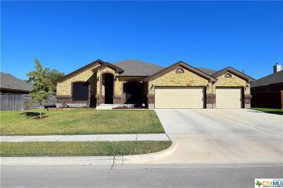 Harker Heights Single Family Home For Sale: 1017 Doc Whitten