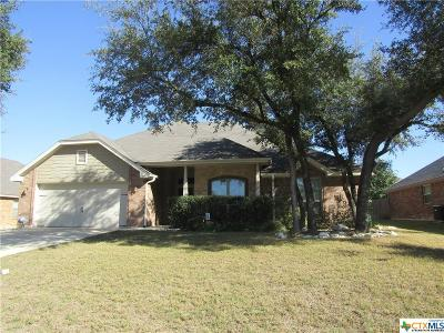 Belton Single Family Home For Sale: 605 Sage Brush