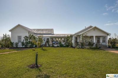 Seguin Single Family Home For Sale: 2611 Laubach Road