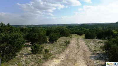 Lampasas Residential Lots & Land For Sale: Tract C County Road 1139