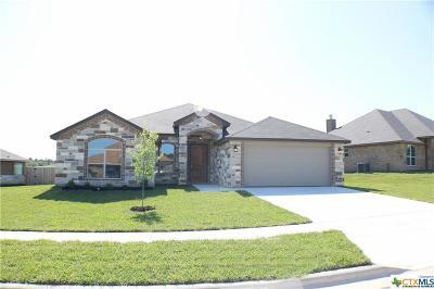 Copperas Cove Single Family Home For Sale: 1014 Republic Circle