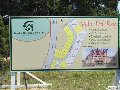 Harker Heights Residential Lots & Land For Sale: 3912 Del Rey