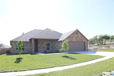 Copperas Cove Single Family Home For Sale: 1018 Republic Circle