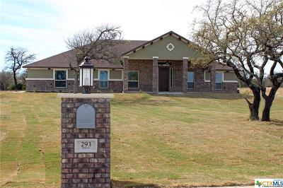 Copperas Cove Single Family Home For Sale: 293 Skyline Drive