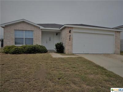 Killeen TX Single Family Home For Sale: $134,500