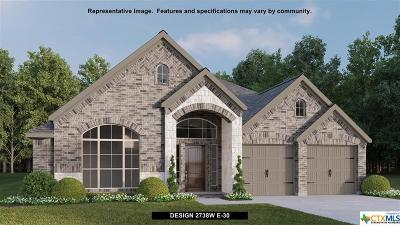 New Braunfels Single Family Home For Sale: 611 Coral Berry View