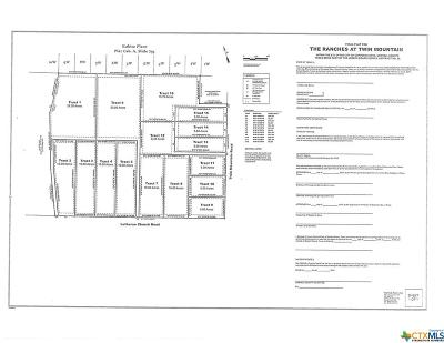 Copperas Cove Residential Lots & Land For Sale: Tract 13 Twin Mountain Rd