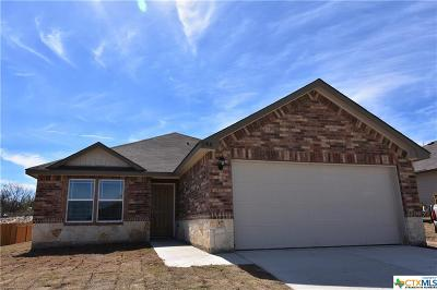 Killeen TX Single Family Home For Sale: $175,450